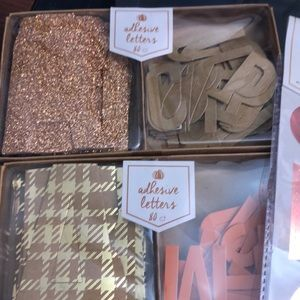 Fall themed craft/party supplies